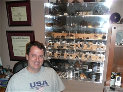 David Hardy and his magnificent collection